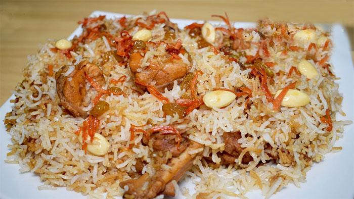 Afghani Biryani Recipe