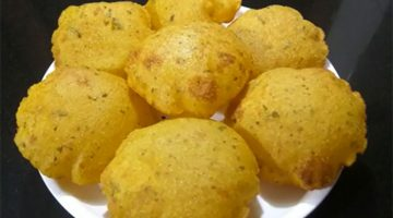 सूजी आलू की मसाला पूरी हल्की,फुल्की,सॉफ्ट व टेस्टी Suji Aloo Poori Recipe