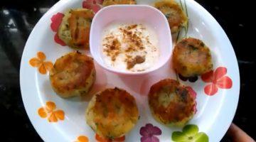 व्रत में बनाएं स्वादिष्ट शकरकंद की टिकिया Sweet Potato Tikiya Recipe