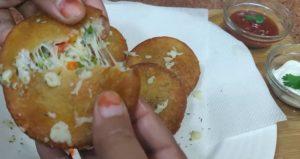 bread cheese kabab