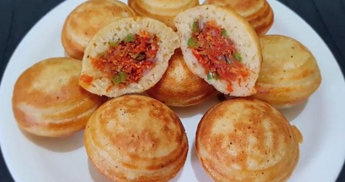 Gajar Appe recipe in hindi