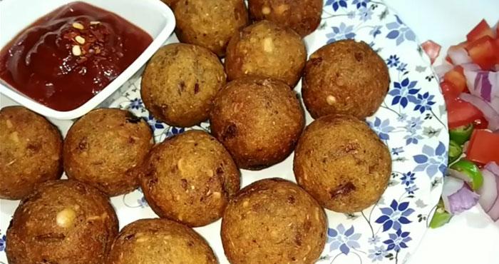 basi roti peanut Potato balls