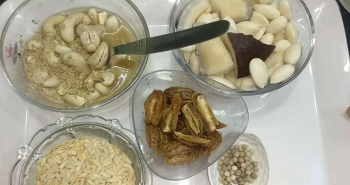 Achwani Ingredients