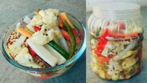 Pickled Vegetables in hindi