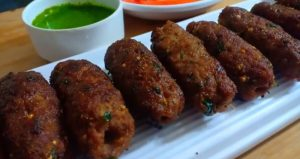 Mutton Reshmi Seekh Kabab