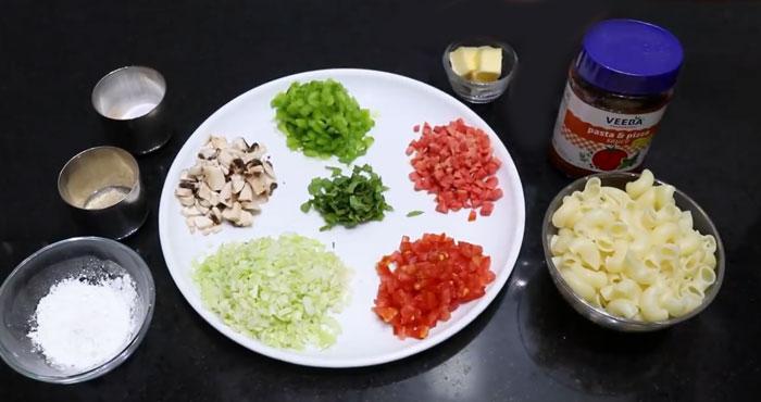 Soupy Pasta Recipe ingredients