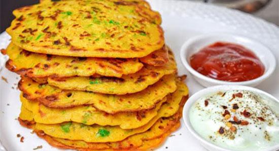 10 मिनट में बनाएं ऐसा मज़ेदार नाश्ता जिसको सब देखते रह जाएं Aate ka Pancake