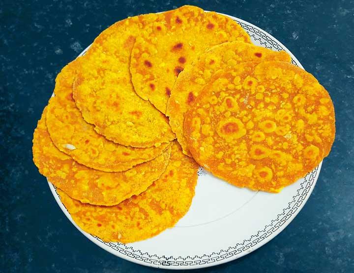 lehsuni khakra recipe