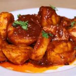 Chatpate Laal Aloo Recipe