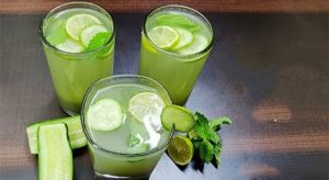 Cucumber Mint Juice