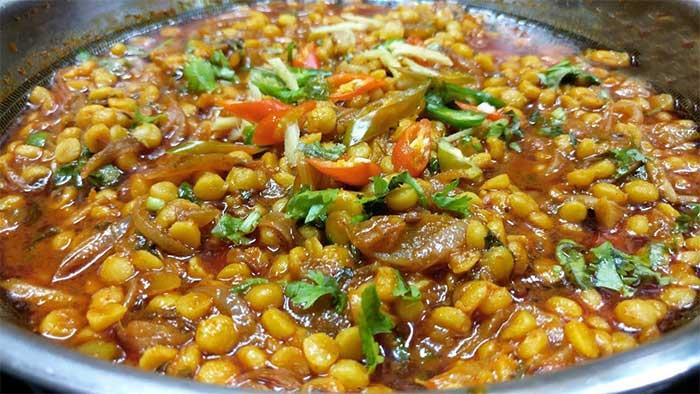 चना दाल प्याज़ की ढाबा स्टाइल सब्जी Chana Dal or Pyaz ki Sabzi