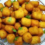 Garlic Potato Rice Snacks