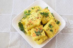 Instant Moong Dal Dhokla