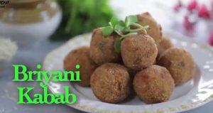 Veg Biryani Kebab