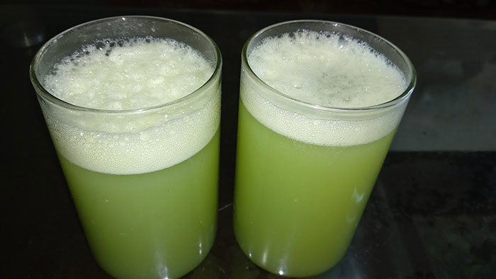 Green Grape Green Apple Juice
