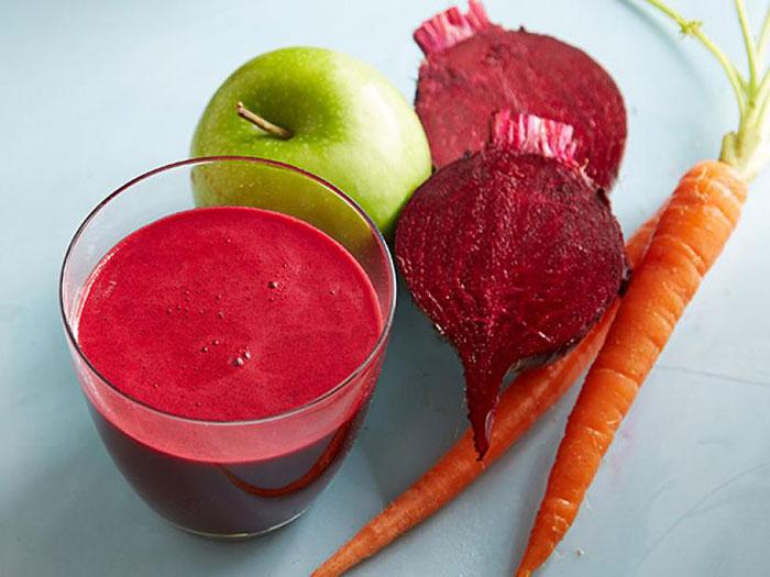 sugar beets apple carrot juice