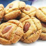 Semolina coconut biscuits