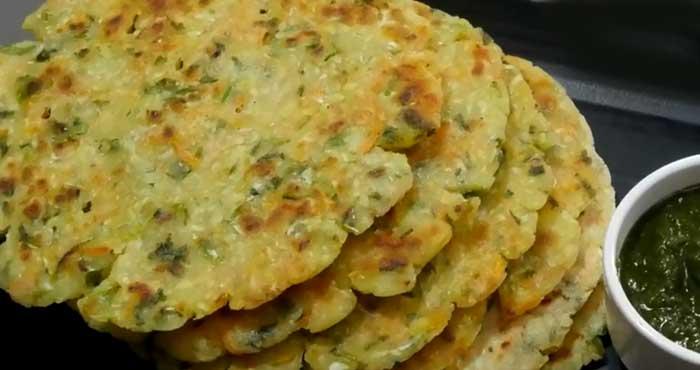 जबरदस्त स्वाद के साथ बनाएं मिक्स वेज चावल की रोटी Veg Masala Rice Roti