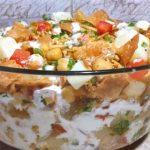 Dahi Chana Chaat Recipe