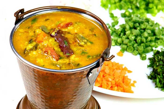 Healthy Mix Veg Dal