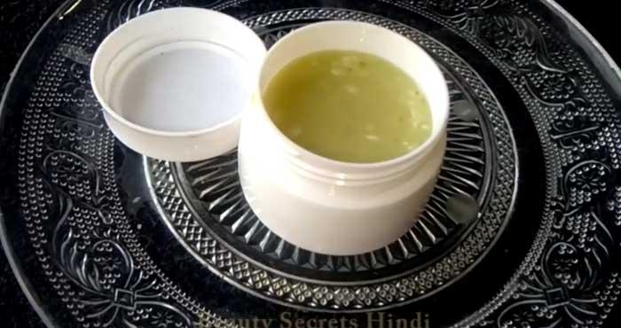 Raw Potato Cream for Fair Skin