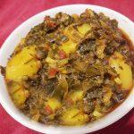 hare pyaz ki sabji recipe