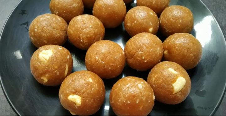 15 मिनट में पार्लेजी बिस्कुट से बनाएं स्वादिष्ट लडडू Parle g Biscuit ke Laddu