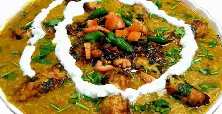 Dhuwan Dar Daal Kabab Recipe