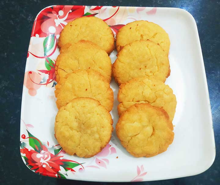 Besan Cookie Recipe