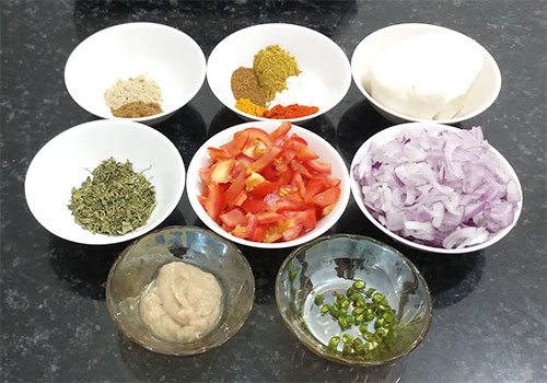 ingredients for dal nawabi