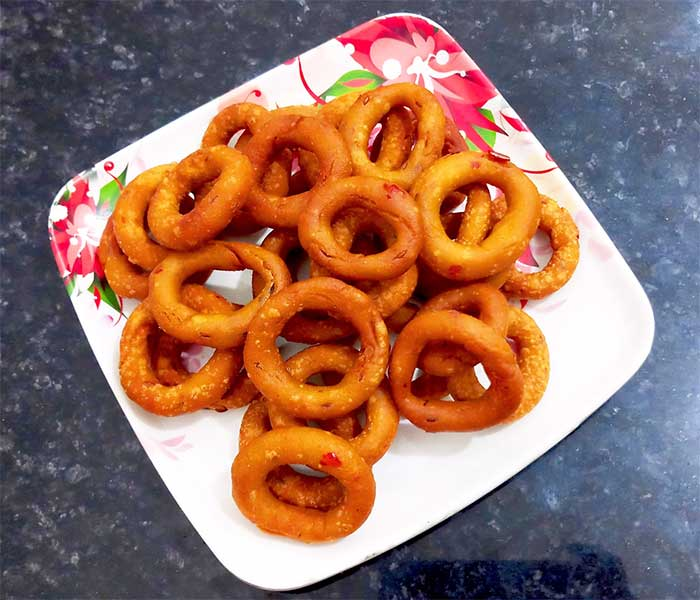 rice ring recipe in hindi