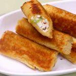 bread paneer roll recipe