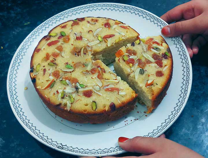 Aata cake