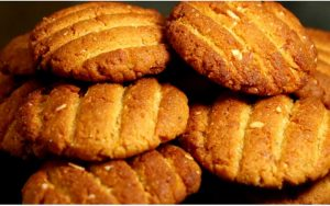 Atta Jaggery Biscuits