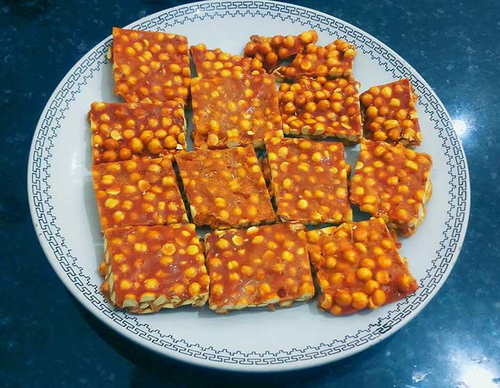 Chana Chikki Recipe