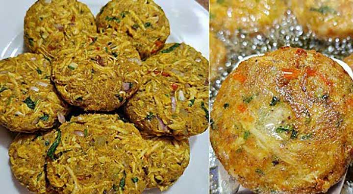Chicken Resha Kabab Recipe