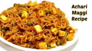Achari Maggi Recipe