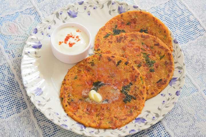 Tikkar Paratha