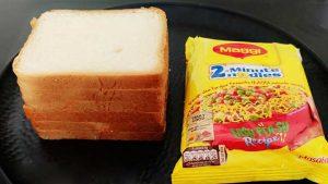 Maggi Bread Roll