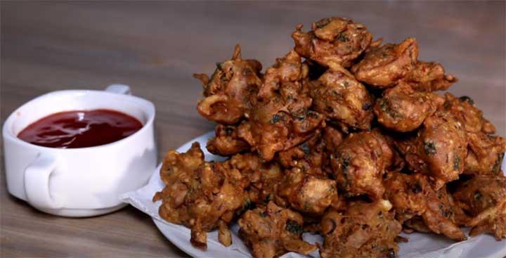 achari pakoda recipe