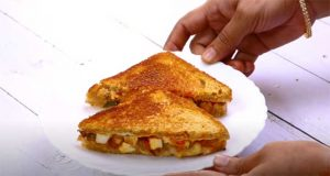 cheese paneer sandwich recipe
