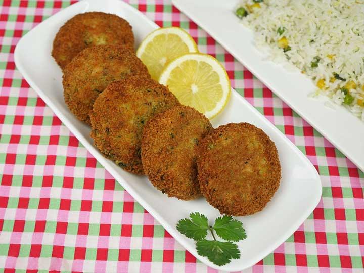 chicken potato kabab