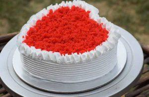 heart shape cake recipe