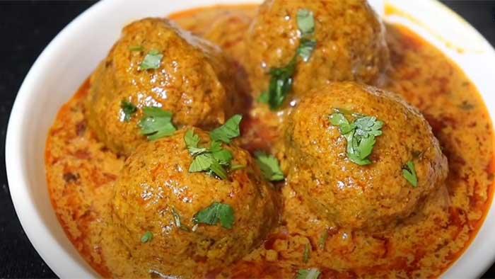 matar kofta curry recipe