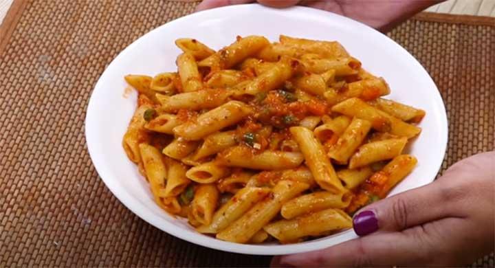 tomato sauce pasta recipe