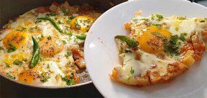 afghani omelette