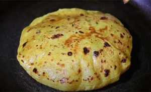 aloo paratha liquid dough