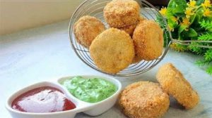 biscuit kabab