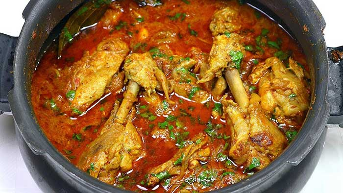chicken curry in pressure cooker