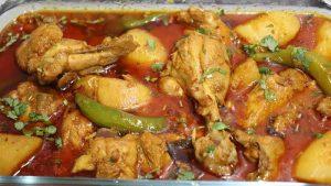 chicken potato curry recipe